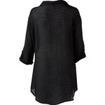 Porto Cruz Women's Plus Size 3/4-Length Sleeve Cover-Up Shirt - view number 1