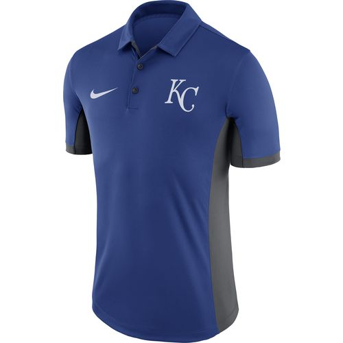 Nike Men's Kansas City Royals Franchise Evergreen Polo Shirt - view number 2