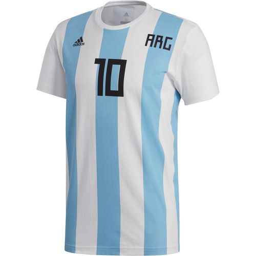 adidas Men's Argentina Lionel Messi 10 T-shirt