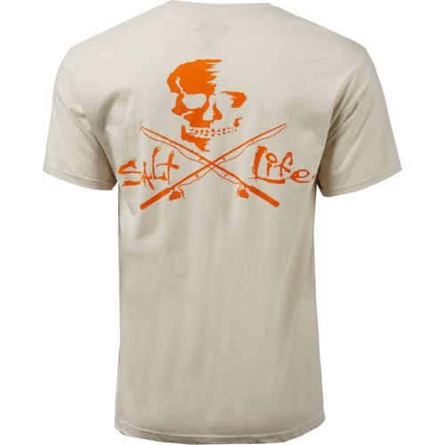 Display product reviews for Salt Life Men's Skull and Poles Short Sleeve T-shirt
