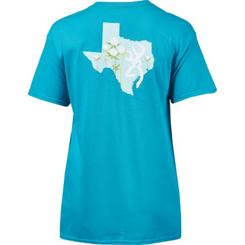 Browning Women's Classic Cotton Buds Texas T-shirt - view number 2