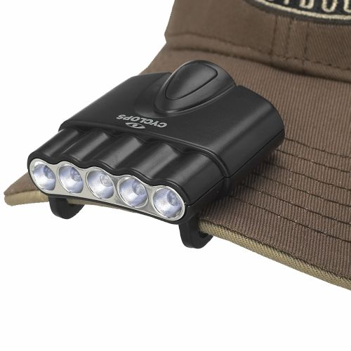 Cyclops Orion LED Hat Clip Light