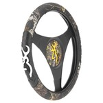 Browning Mossy Oak New Break-Up® Buckmark Steering Wheel Cover