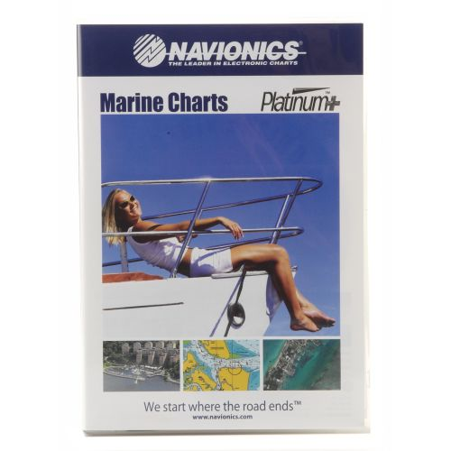 Navionics Platinum+ West Gulf of Mexico Map Software - view number 1
