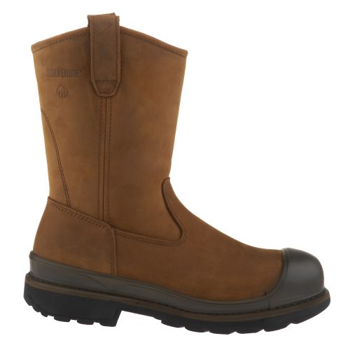 Wolverine Men's Crawford Steel-Toe Wellington Work Boots