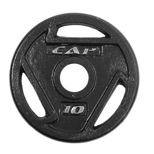CAP Barbell 10 lb. Olympic Grip Plate - view number 1