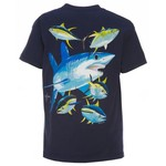 Guy Harvey Boys' Mako Shark T-shirt
