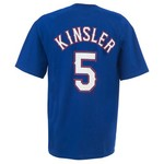 Majestic Men's Texas Rangers Ian Kinsler T-shirt
