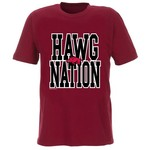 New World Graphics Adults' University of Arkansas Nation T-shirt