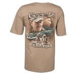 Club Red Men's Troy Landry Choot 'Em! Tree Shawka Short Sleeve T-shirt