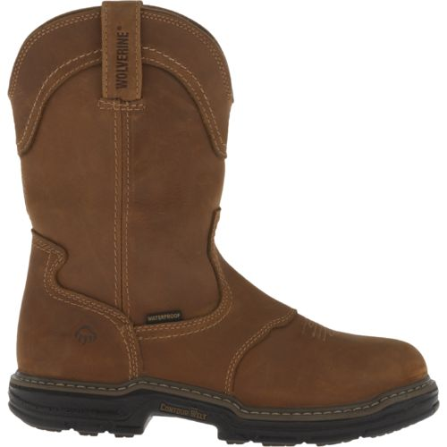Display product reviews for Wolverine Men's Anthem MultiShox Contour Welt WP Western Wellington Boots