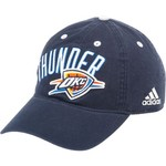 adidas™ Adults' Oklahoma City Thunder Slouch Adjustable Cap