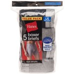 Hanes Men's Red Label Boxer Briefs 5-Pack