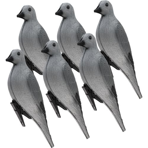 Game Winner® 3-D Foam Dove Decoys 6-Pack