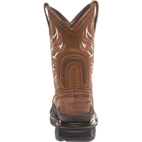 Ariat Men's Overdrive Wide Square Toe Work Boots - view number 4