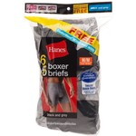 Hanes Men's Boxer Briefs 6-Pack