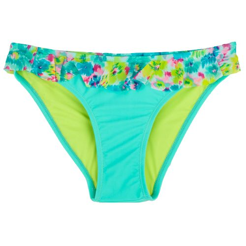 O'Rageous Juniors' Floral Ikat Swim Bottom