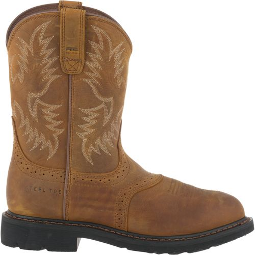 Ariat Men's Sierra Saddle Steel Toe Work Boots | Academy