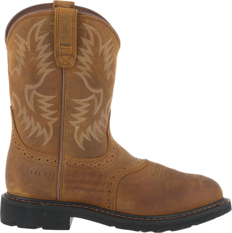 Ariat Men's Sierra Saddle Steel Toe Work Boots