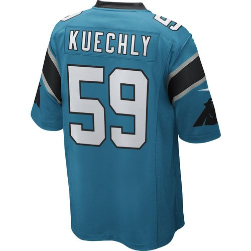 Nike Men's Carolina Panthers Luke Kuechly #59 Alternate Replica Game Jersey