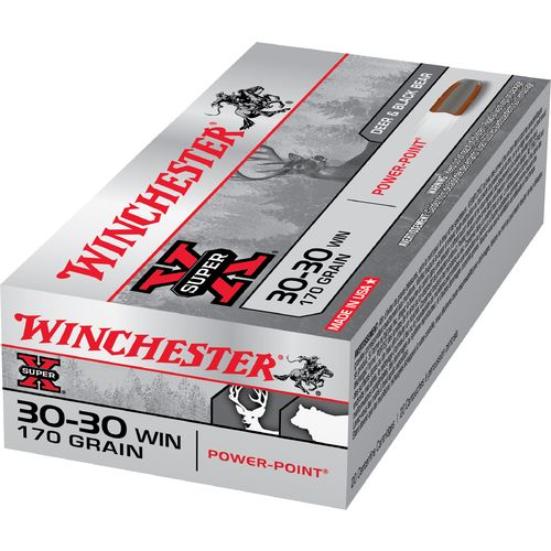 Winchester Super-X Power-Point .30-30 Winchester 170-Grain Rifle Ammunition