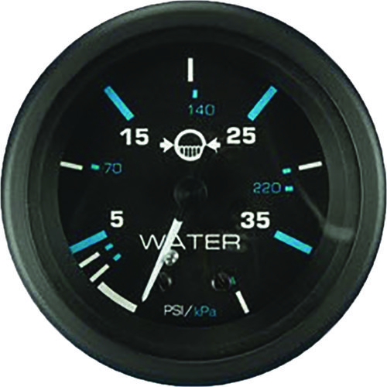 Teleflex® Eclipse Outboard Water Pressure Gauge