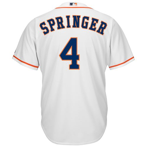 Majestic Men's Houston Astros George Springer #4 Cool Base® Jersey