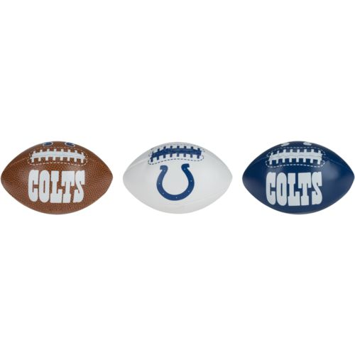 Jarden Sports Licensing Indianapolis Colts Third Down Softee Balls 3-Pack