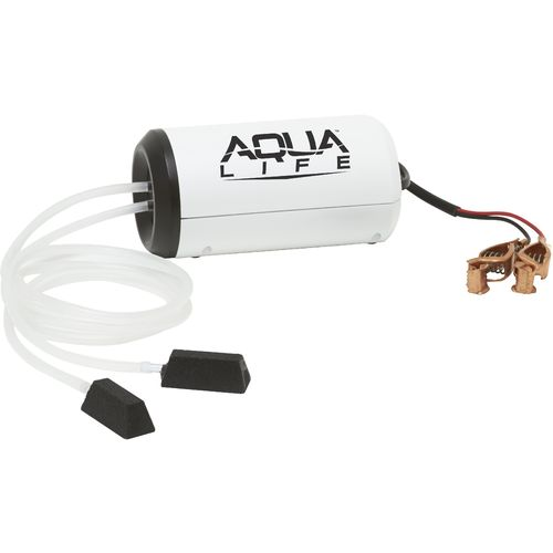 Display product reviews for Frabill Aqua-Life® Dual-Output 12 VDC Aerator