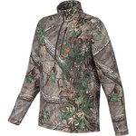 Game Winner® Men's Fulton Camo 1/4 Zip Long Sleeve Shirt