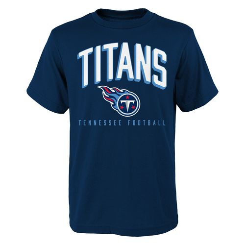 NFL Boys' Tennessee Titans Arch Standard Short Sleeve T-shirt
