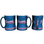 Boelter Brands Atlanta Braves 14 oz. Relief Style Coffee Mug - view number 1