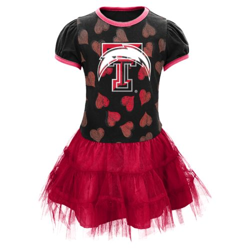 NCAA Toddler Girls' Texas Tech University Love to Dance Tutu Dress