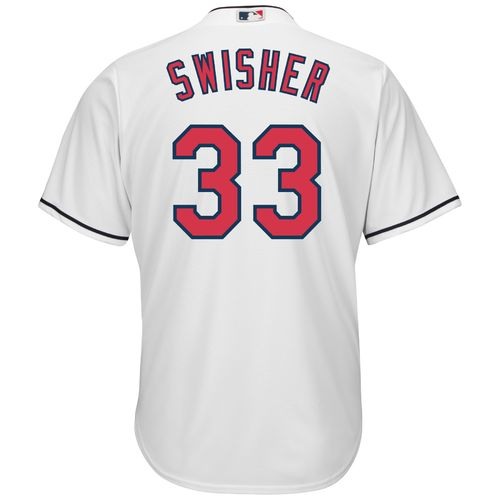 Majestic Men's Cleveland Indians Nick Swisher #33 Cool