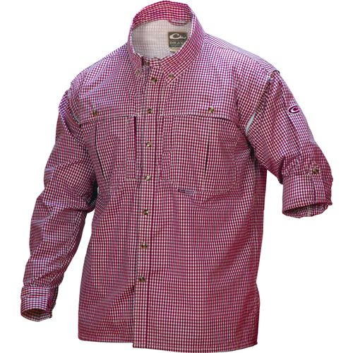 Display product reviews for Drake Waterfowl Men's Wingshooter's Game Day Button-Down Shirt