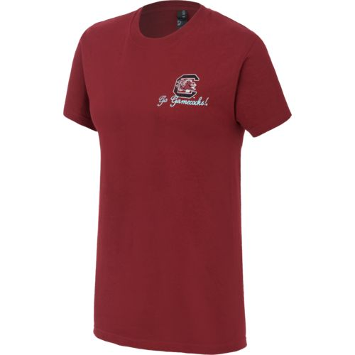 New World Graphics Women's University of South Carolina Short Sleeve T-shirt - view number 2