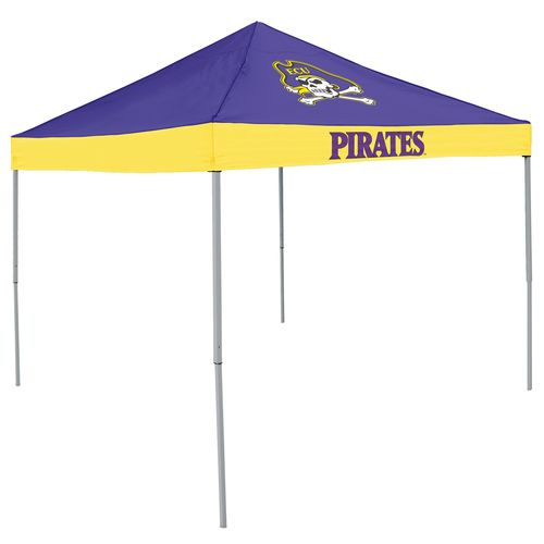 Logo East Carolina University Straight-Leg 9 ft x 9 ft Economy Tent