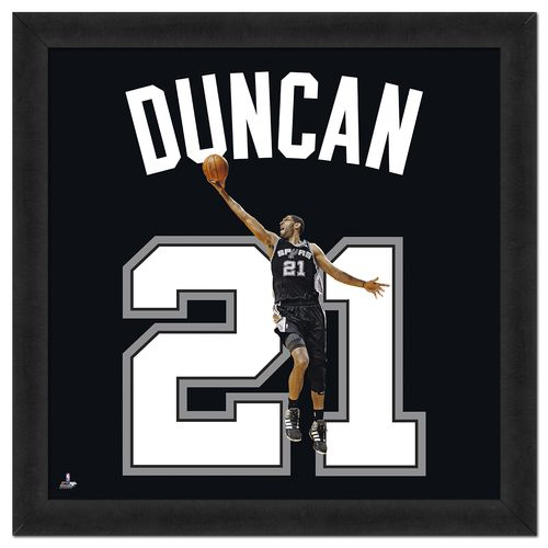 "Photo File San Antonio Spurs Tim Duncan #21 UniFrame 20"" x 20"" Framed Photo"
