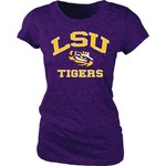 Blue 84 Juniors' Louisiana State University Triblend T-shirt - view number 1