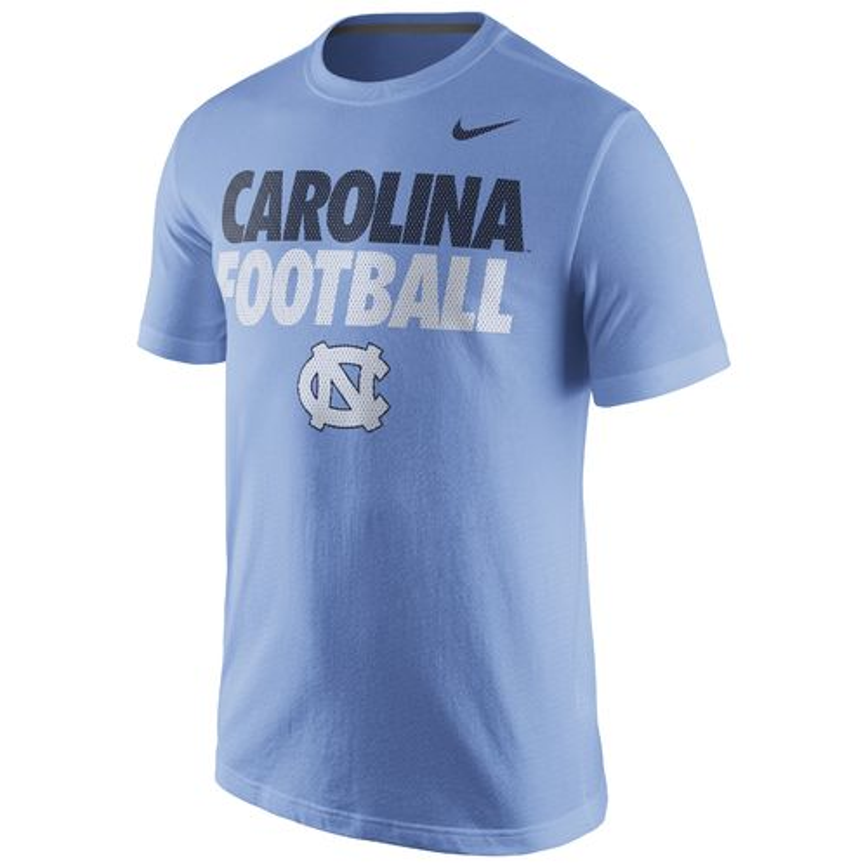 Nike men 39 s university of north carolina practice t shirt for University of north carolina t shirts