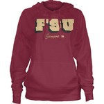 Three Squared Women's Florida State University Dirty Bird Hoodie