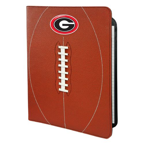 GameWear University of Georgia Classic Football Portfolio with Notepad