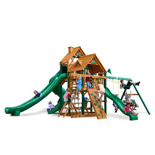 Display product reviews for Gorilla Playsets™ Great Skye II Swing Set with Timber Shield™