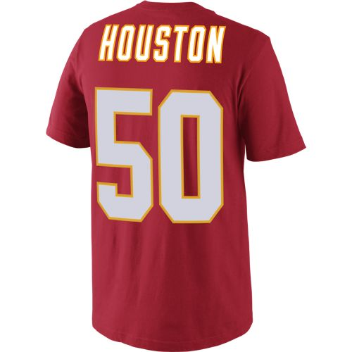 Nike Men's Kansas City Chiefs Justin Houston 50 Player Pride T-shirt