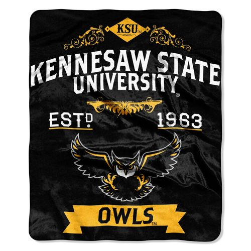 The Northwest Company Kennesaw State University Label Raschel Throw