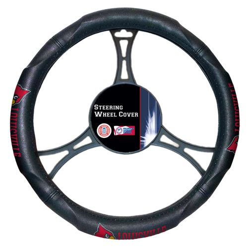 The Northwest Company University of Louisville Steering Wheel Cover