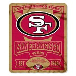 The Northwest Company San Francisco 49ers Marquee Fleece Throw - view number 1
