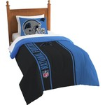 The Northwest Company Carolina Panthers Twin Comforter and Sham Set