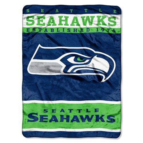 The Northwest Company Seattle Seahawks 12th Man Raschel Throw
