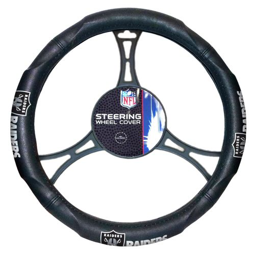 The Northwest Company Oakland Raiders Steering Wheel Cover